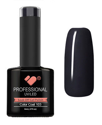 103 VB Line Feature Light Black - gel nail polish - super sale!