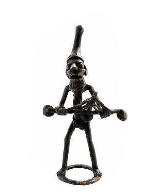 Figure African Figurine Bronze African Bamoun Cameroon AB11