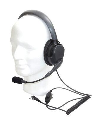 EARTEC MAX-4-G SINGLE einseitige Kopfhörer-Mikrofongarnitur mit Kenwood-Stecker ()