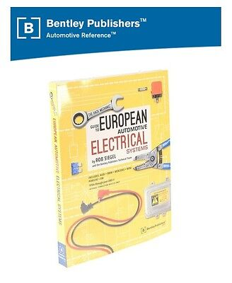 For Bentley Repair Manual Hack Mechanic Guide European Autom. Electrical Systems