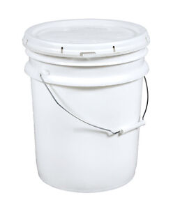 CHAUDIERES 5 GALLONS PAILS EMPTY 5GAL