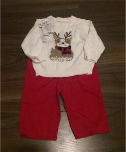 Baby Christmas clothes 3-6 mo Sarnia Sarnia Area image 2