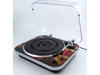 Union Jack GPO record player !! New !!