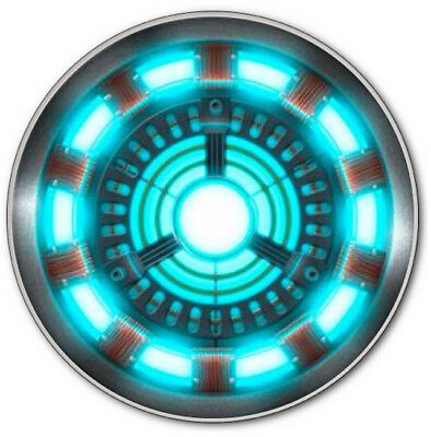 IRON MAN TONY STARK ARC REACTOR BUTTON 3