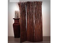 2 Willow room dividers - used once