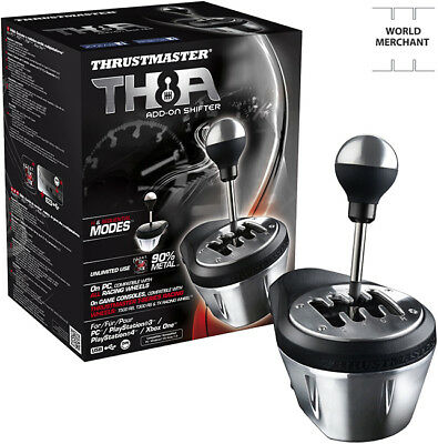 Thrustmaster Joystick Ps4 Xbox One S Add On Shifter Th8a Gearbox Gearshifter Ps3
