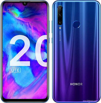HONOR 20 LITE 128GB BLACK / BLU 128GB 4GB 6.21 NUOVO GARANZIA ITALIA