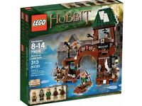 The Hobbit LEGO 79016 Attack on Lake-Town NISB New Factory Sealed Box