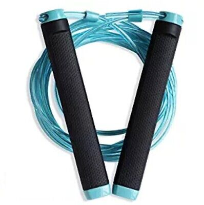Jump Rope-Adjustable 10ft Cable, Best for Skipping, Boxing, Speed, MMA