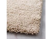 IKEA ( not Dwell Boconcept Heals ) Adum Rug High Pile Off White 200cm X 300cm Paid £150 With Receipt