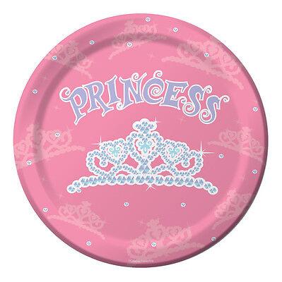 Birthday Princess Dinner Plates - Birthday Party - Princess Plates