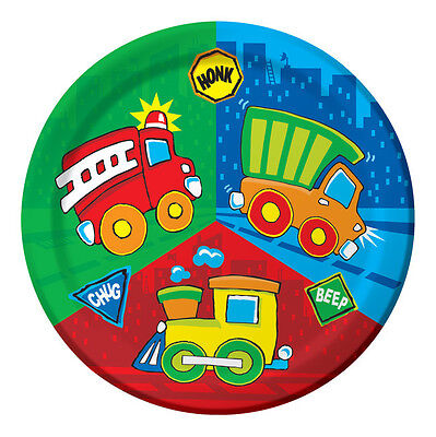 Construction Pals Dinner Plates - Birthday Party Supplies