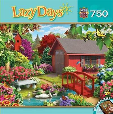 Masterpieces Lazy Days Jigsaw Puzzle Over The Bridge Alan Giana 750 Pcs  31693