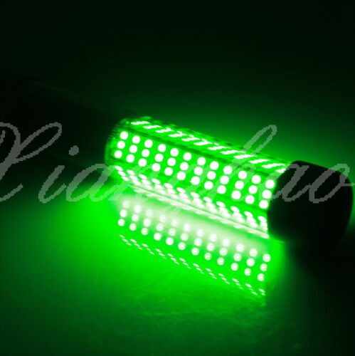 Led 900lumens green underwater submersible boat night for Boat lights for night fishing