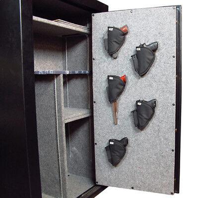 Stealth XL Pistol Holster 5 Pack Handgun Storage Solution for Gun Safe Car