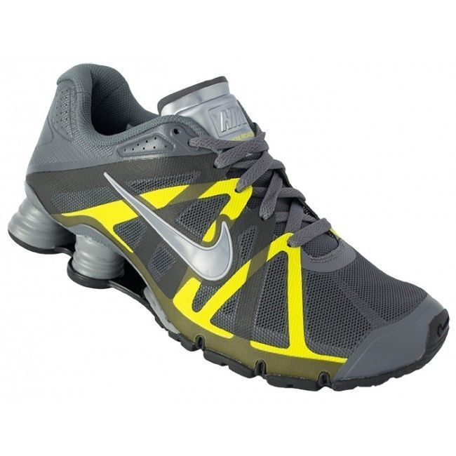 Designed for running on hard surfaces, Nike Shox Roadster+ shoes provide incredible impact protection.