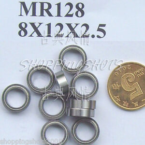 1pc-MR128-MR128Z-Miniature-Bearings-ball-Mini-bearing-8X12X2-5-8-12-2-5-MR128zz