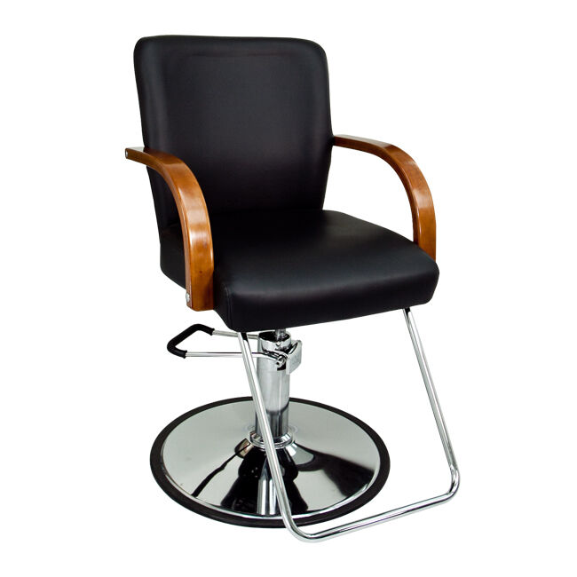 Black Modern Fashion Classic Hydraulic Barber Chair Hair Styling Salon Beauty