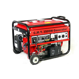 3500 Watt 120/240VAC Emergency Gas Generator Backup Home RV Power Tools