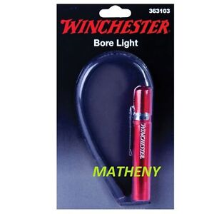 Winchester-Flexible-Gun-LED-Bore-Light-w-Clip-Firearm-Gunsmith-Tools-Flash