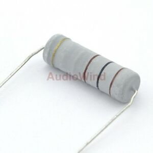 100-Ohm-Metal-Oxide-Film-Resistors-5W-5-Watts-x5PCS