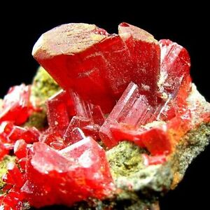 REALGAR-crystal-on-matrix-mineral-specimen-AZ226