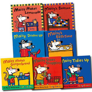 Maisy Mouse Loves Collection 7 Books Set Lucy Cousins Early Learners Children