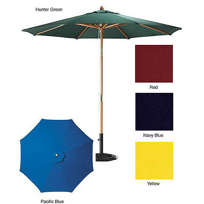 Premium 9-foot Round Patio Umbrella with Stand