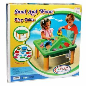 SAND-AND-WATER-PLAY-TABLE-BNIB