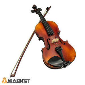 New 4/4 Mater Old Antique Violin Concert Level with Case 1A Concert Level