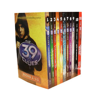 The-39-Clues-Collection-11-Books-Set-Pack-Series-Collection-Digital-Cards-Code