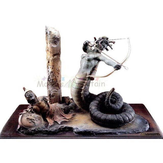 Clash of The Titans Medusa W Base 1 6 Vinyl Model Kit | eBay