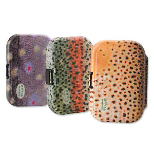 Orvis Trout Print Plastic Fly Box Brook Trout