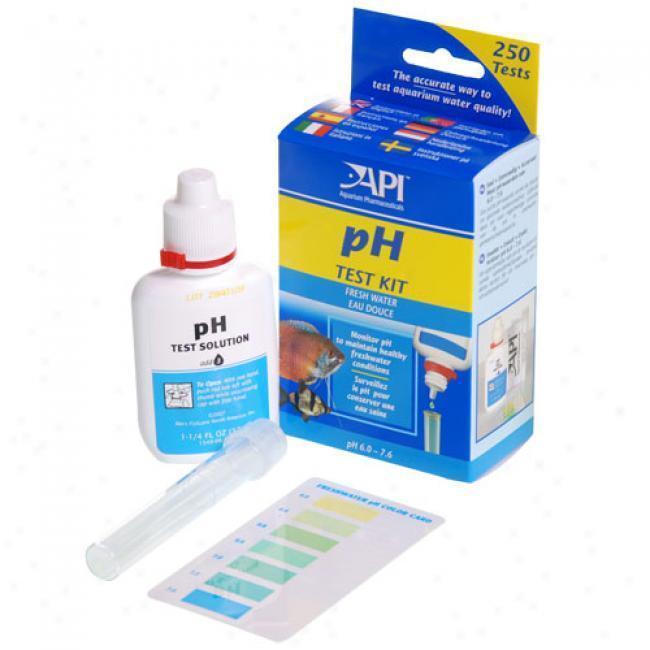 Aquarium Pharmaceuticals Freshwater Ph Test Kit 250 Tests Api Good Thru 2020