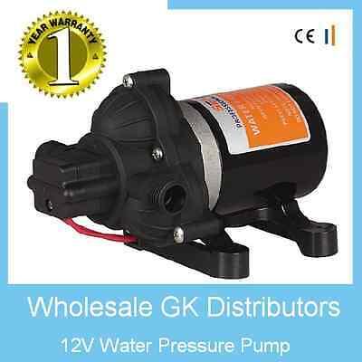 Rv Camper Automatic Demand Water Pump 12v 2.8gl Replaces Shurflo 2088-422-444