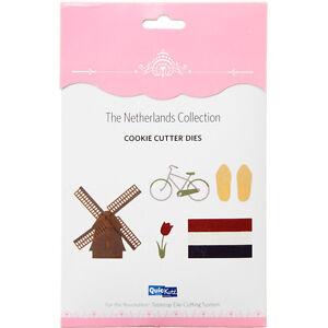 QuicKutz NETHERLANDS 5-piece Cookie Cutter die Collection - $20