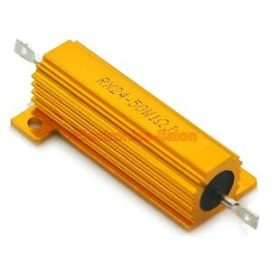 2x-1-OHM-50W-Wirewound-Aluminum-Housed-Resistor-50-Watts
