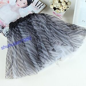 1 Pc 23 Style Colors Zebra Rainbow Leopard BALLET TUTU Cute Girl Party Skirt
