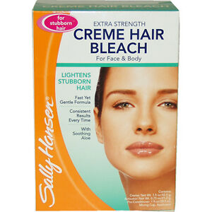 Extra Strength Creme Hair Bleach for Face & Body & Stubborn Hair Sally Hansen