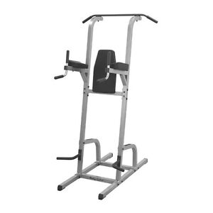 Body Solid Power Tower Chin Pull Up, VKR, Push Up, Dips