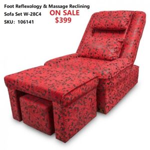 Foot Massage Table Bed With Foot Rest Priced From $389.00!
