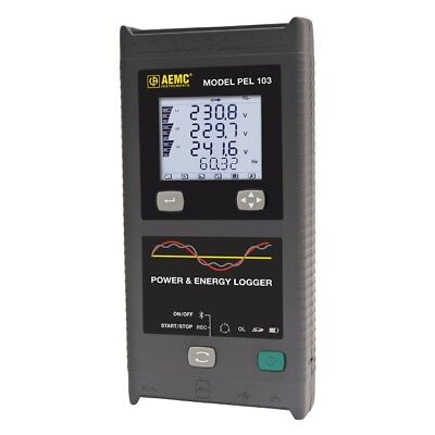 Price Reduced 1 Only At This Price New Aemc Pel 103 Power Energy Logger-