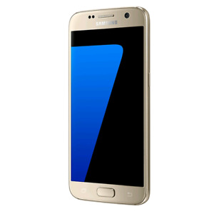 Samsung Galaxy S7 Gold with Otterbox and Alpha Glass - READ1ST