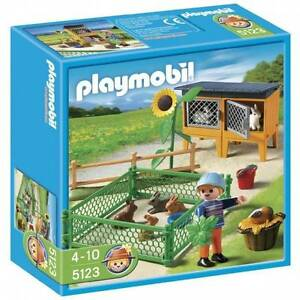 Playmobil 5123 Country Farm Rabbit Pen Coomera Gold Coast North Preview