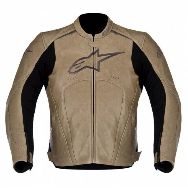 """Ducati Herren alpinestars Avant Lederjacke """" PYRITE """" *3101913*"""