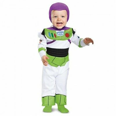 Disguise Toy Story Film Buzz Lightyear Deluxe Kleinkind Halloween Kostüm - Deluxe Buzz Lightyear Kostüm