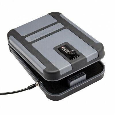 Snapsafe Treklite Combination Lock Box XL, TSA & CA DOJ Approved (Polycarbonate)