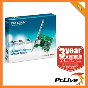 NEW-TP-Link-TG-3468-Gigabit-10-100-1000Mbps-PCI-Express-Network-LAN-Card-Adapter