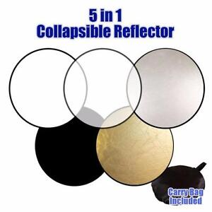 "5 in 1 reflector 32""/ 60"" x 80""/; 7 in 1 reflector 32'' /43''"