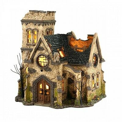 Dept 56 Halloween Village THE HAUNTED CHURCH 4036592 BNIB Department 56